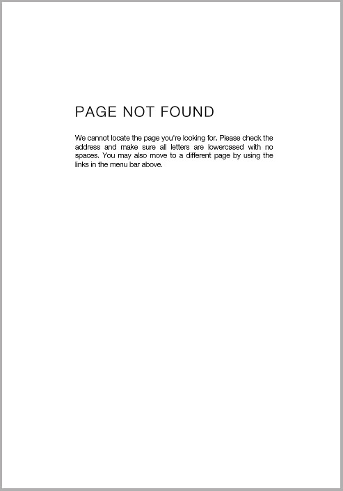 - Page Not Found (2nd edition)