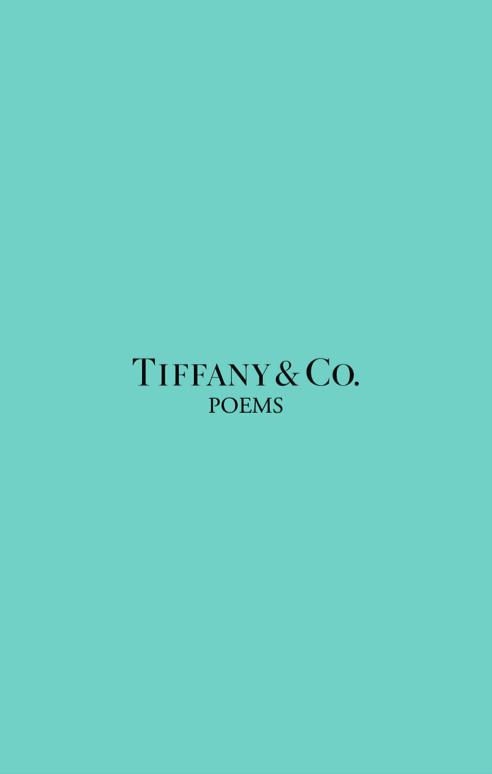 - TIFFANY & Co. POEMS
