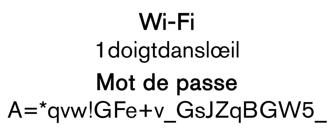 - untitled (a fake Wi-Fi name and a fake password)